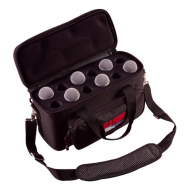 ¡PRONTO! Bolso acolchada GATOR para 12 microfonos