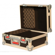 Case de madera GATOR para 15 microfonos y accesorios