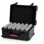 ¡PRONTO! Case de fibra para 30 micrófonos GATOR