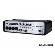 Interfaz de audio M- AUDIO M-TRACK QUAD