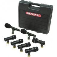 NADY DMK7 Kit de Bateria 7 Micrófonos