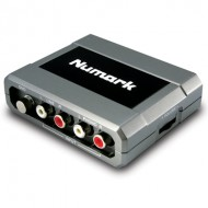 Interfaz de Audio Numark USB STEREO iO