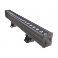 BARRA LED OUTDOOR  ( RGBWA-UV ) 6 en 1 - 15W x 18 LED
