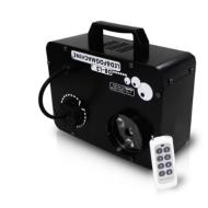 Maquina de humo con 3 led RGB 9 WATTS