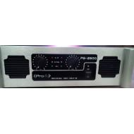 Amplificador de potencia PRODB PQ-2600