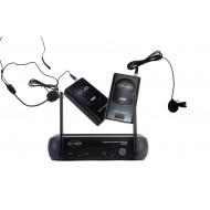 Sistema Inalámbrico VHF con microfonos de cintillo-lavalier Prodb