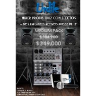 SISTEMA DE AUDIO PRODB MEDIUM PACK