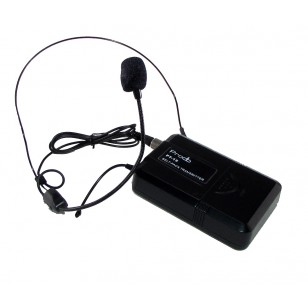 Sistema Inalámbrico UHF con 2 microfonos de cintillo Prodb