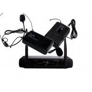 Sistema Inalámbrico UHF con microfonos de lavalier y cintillo Prodb