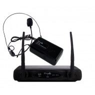 Sistema Inalámbrico UHF con microfono de cintillo Prodb