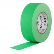 "Cinta Pro Gaff tela verde fluor 2"""