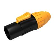 CONECTOR SEETRONIC POWERCOM VOLANTE MACHO IP65 16A/250V PARA USO OUTDOOR