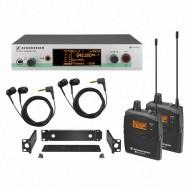 Sistema de monitoreo in-ear Sennheiser EW 300-2 IEM G3