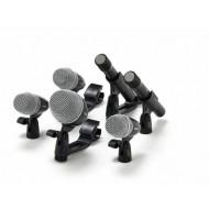 Set microfonos Shure PGDMK6-XLR