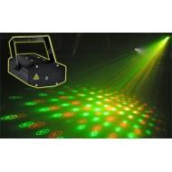 Laser Multipunto RG con gobos MNB60RG