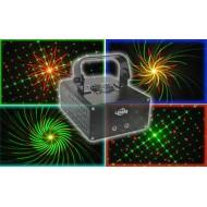 Laser Multipunto RG con gobos L6A32RG