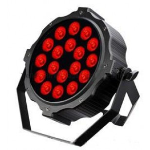 LED Slim Indoor Par Light  10Wx18pcs RGBAWUV 6 in 1 LED