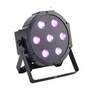 FOCO LED SLIM 7 LED ( RGB 3 en 1)