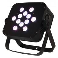 Par LED slim 12x10w 4 en 1