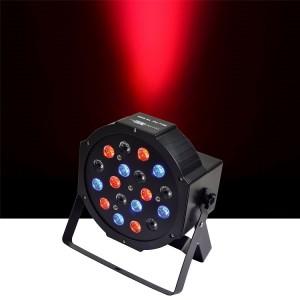 Par LED slim 18x1w