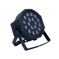 FOCO LED SLIM 18 LED ( RGB )